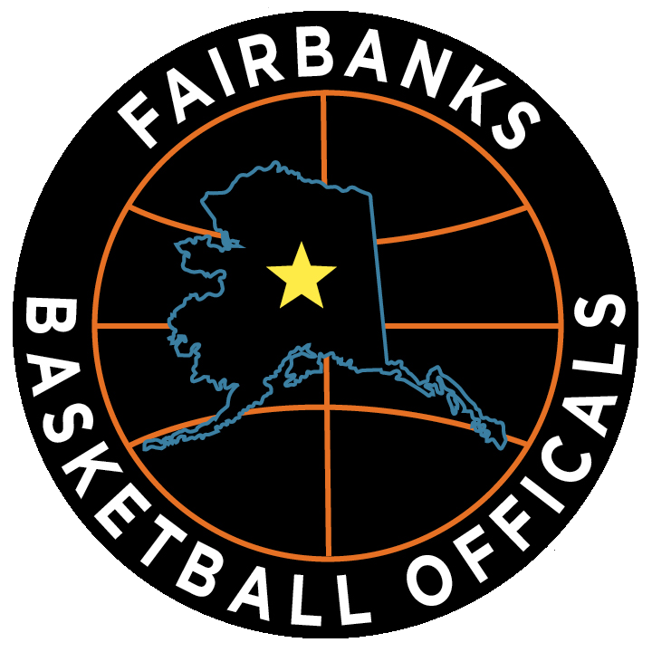 Fairbanks Basketball Officials Logo